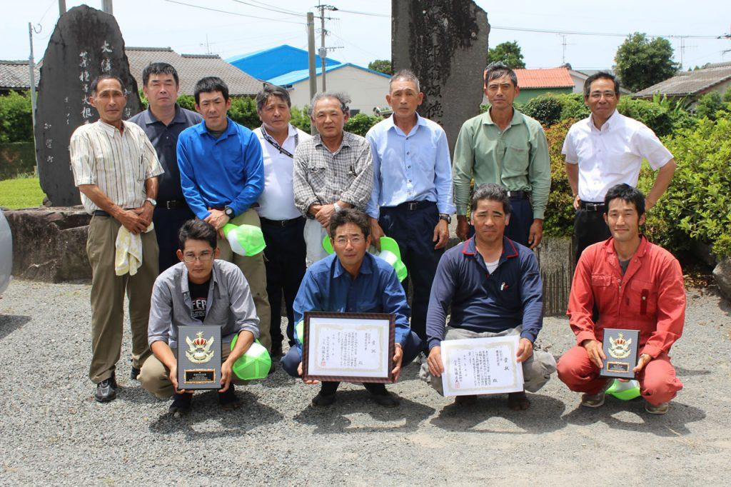 南九州市乗用型茶摘採競技大会
