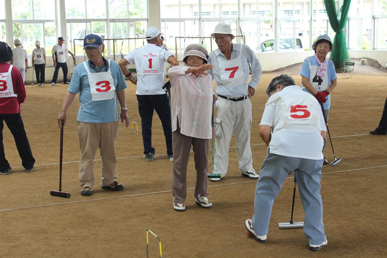 山川地区年金友の会ゲートボール大会