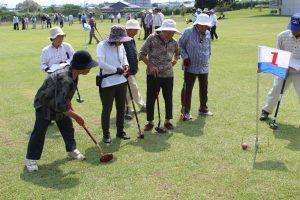 年金友の会グラウンドゴルフ大会