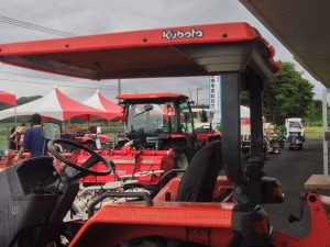 JAいぶすき農業機械展示会