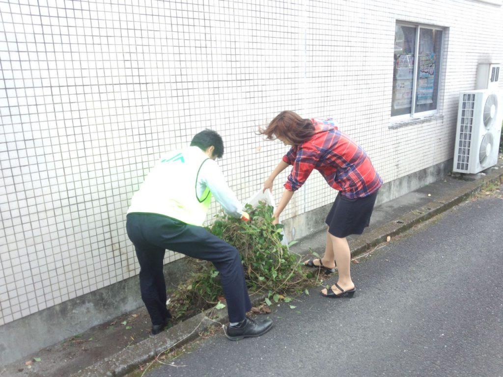 クリーンの日統一清掃