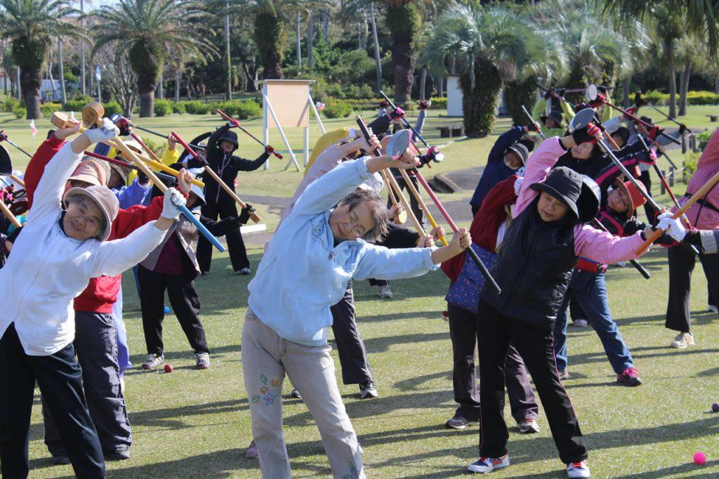 指宿地区女性部グラウンドゴルフ大会