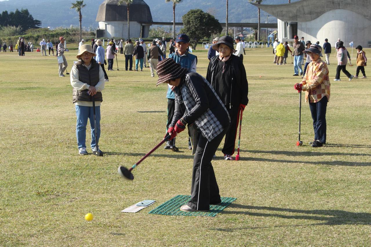 金友の会グラウンドゴルフ大会