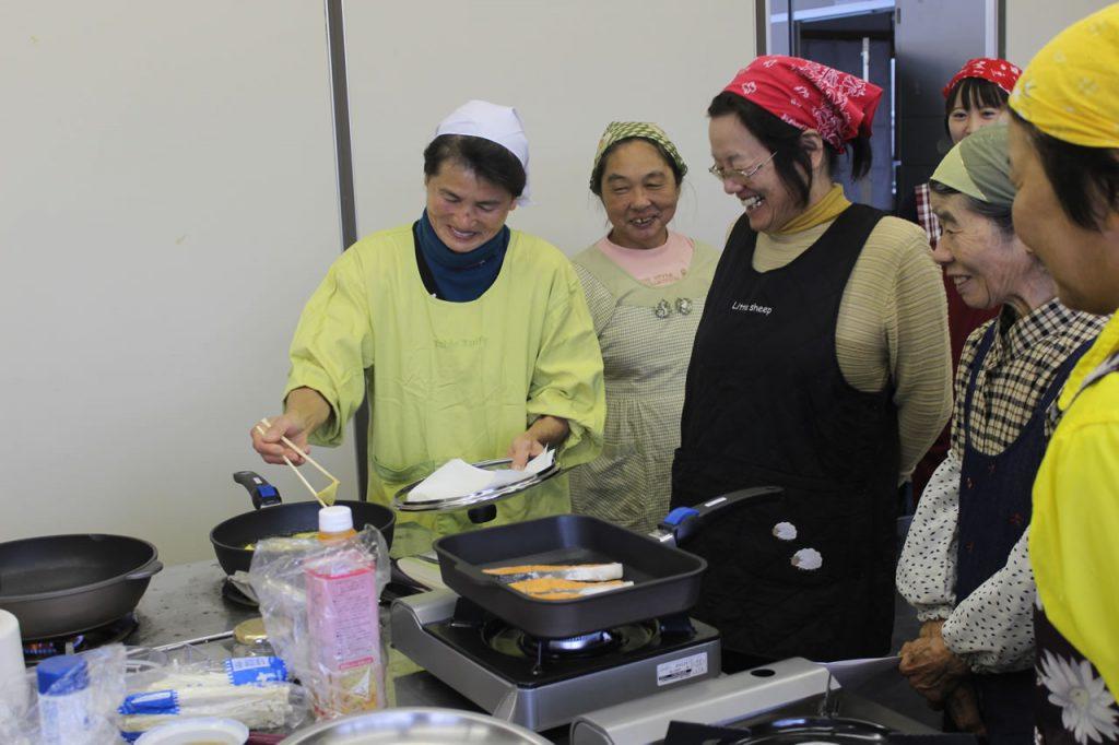 開聞地区女性部料理教室