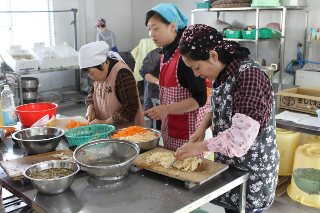 えい地区女性部お正月料理教室