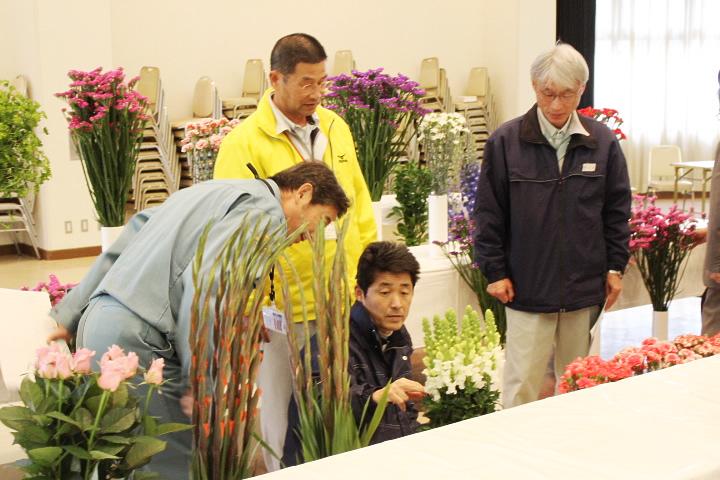 いぶすき花き振興会 フラワーコンテスト開催