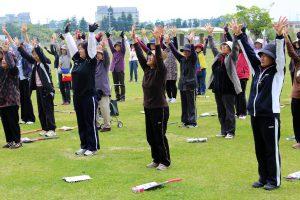 指宿地区女性部グラウンドゴルフ大会開催
