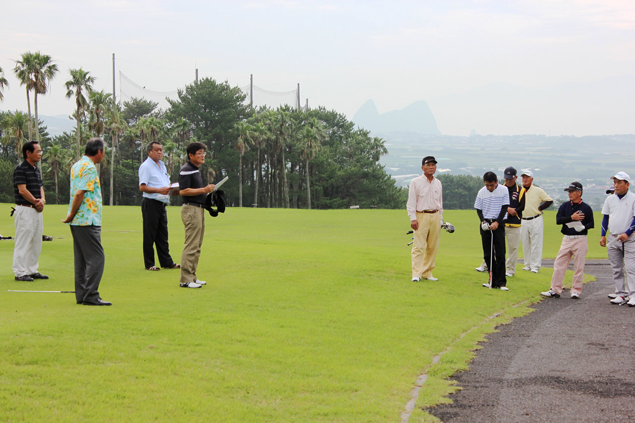 年金友の会ゴルフ大会初開催