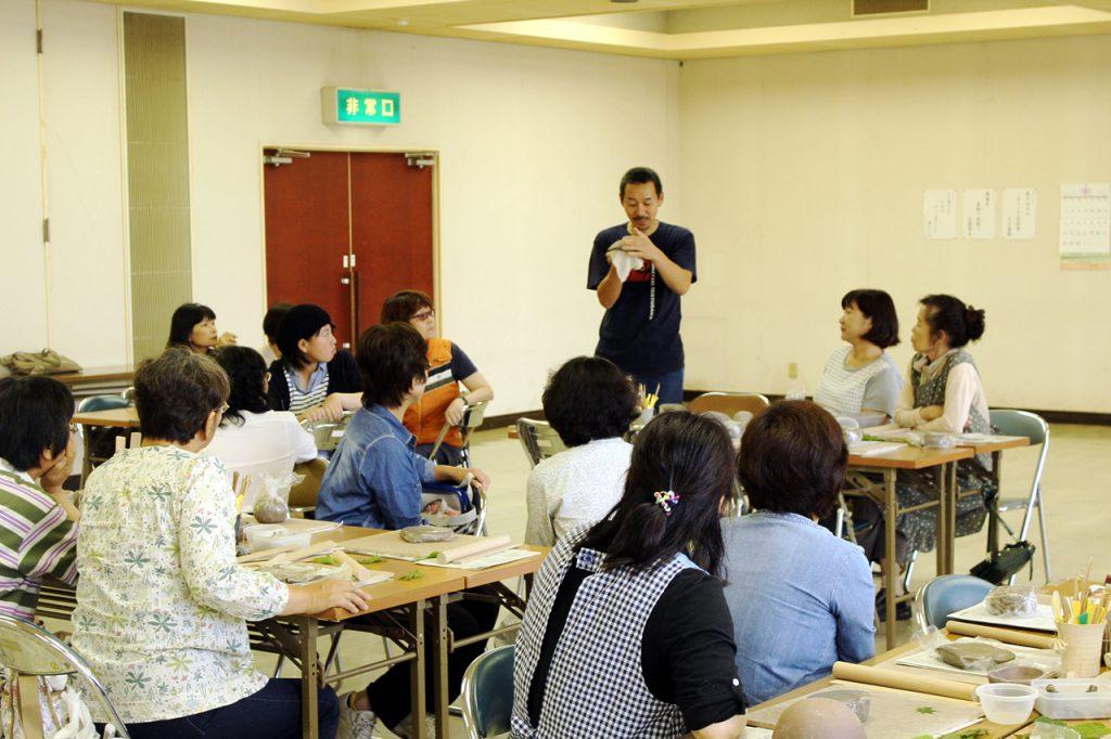 女性大学なごみ「陶芸教室」開催