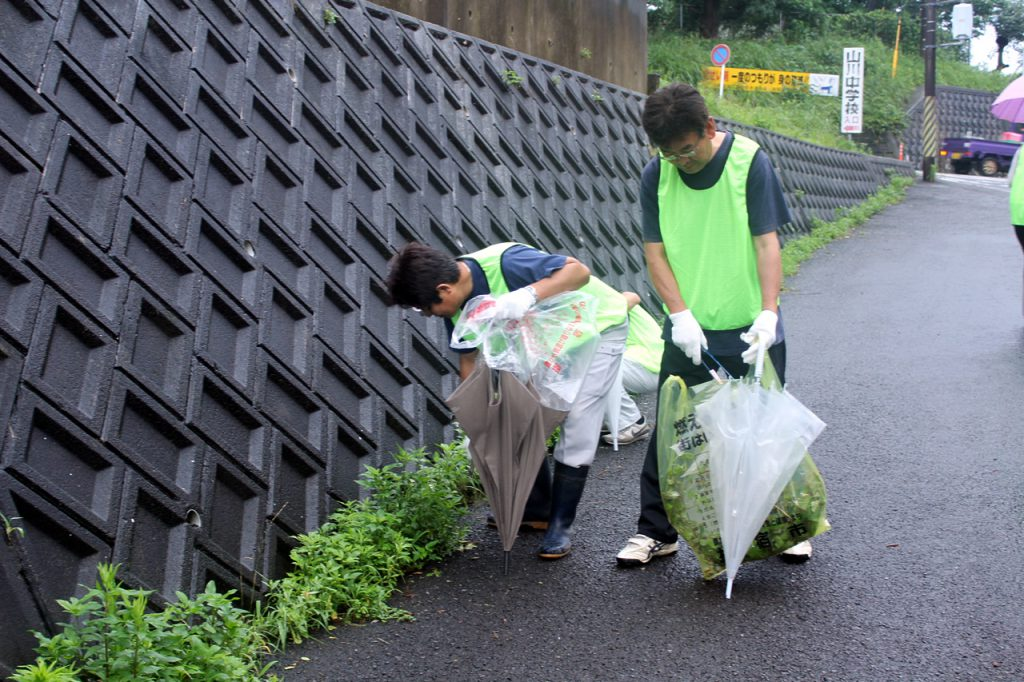 国際協同組合デー清掃活動