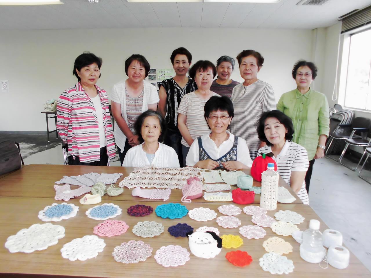 女性部手芸教室開催