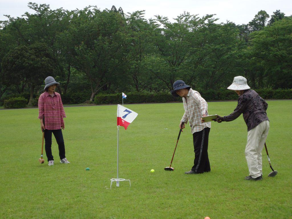 グランドゴルフを楽しみました(^▽^)/